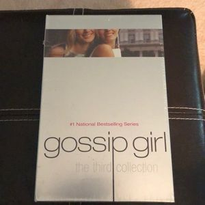 Gossip Girl The Third Collection of books.